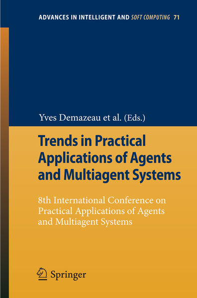 Trends in Practical Applications of Agents and Multiagent Systems | Dodax.ch