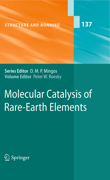 Molecular Catalysis of Rare-Earth Elements | Dodax.ch