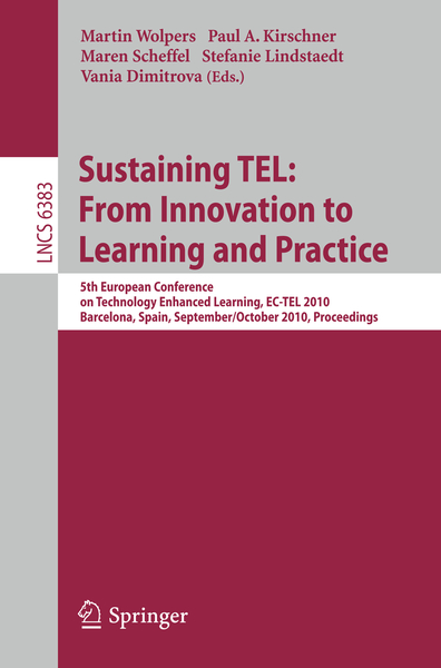 Sustaining TEL: From Innovation to Learning and Practice   Dodax.ch