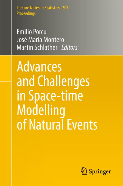 Advances and Challenges in Space-time Modelling of Natural Events | Dodax.at