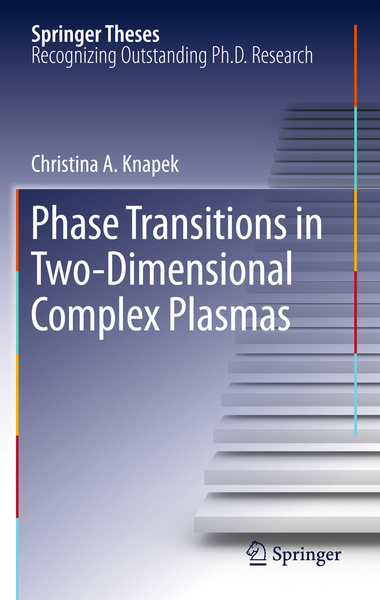 Phase Transitions in Two-Dimensional Complex Plasmas | Dodax.ch