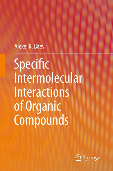 Specific Intermolecular Interactions of Organic Compounds | Dodax.ch