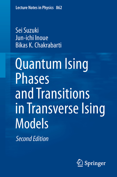 Quantum Ising Phases and Transitions in Transverse Ising Models | Dodax.ch