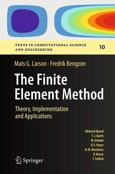 The Finite Element Method: Theory, Implementation, and Applications | Dodax.pl