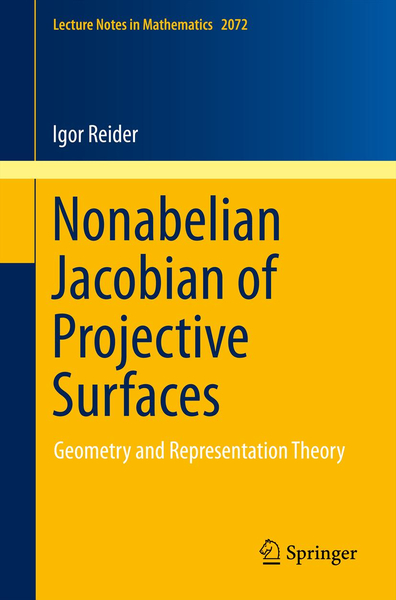 Nonabelian Jacobian of Projective Surfaces | Dodax.at