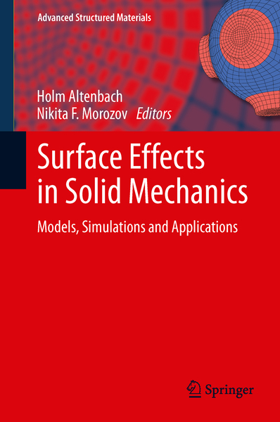 Surface Effects in Solid Mechanics   Dodax.ch