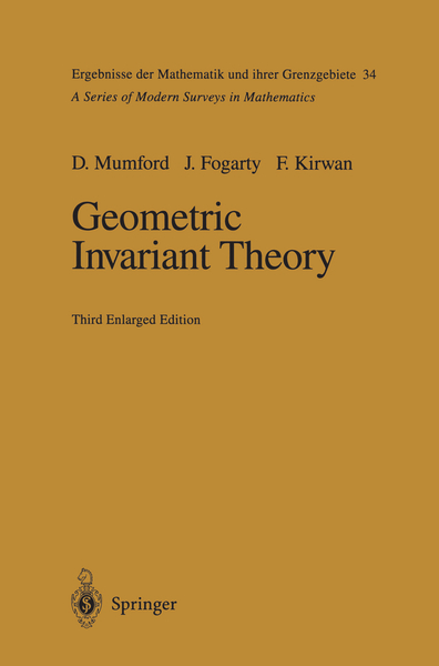 Geometric Invariant Theory | Dodax.pl