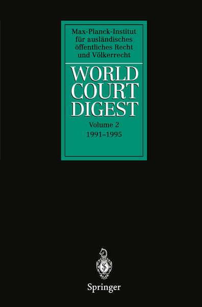 World Court Digest | Dodax.ch