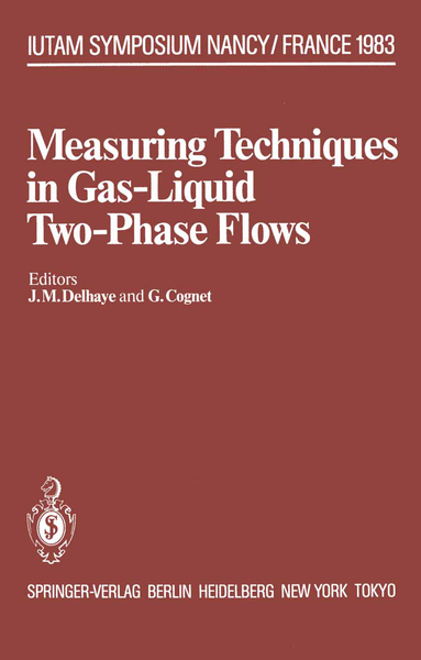 Measuring Techniques in Gas-Liquid Two-Phase Flows | Dodax.at