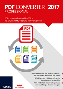 PDF Converter Professional 2017, CD-ROM | Dodax.at