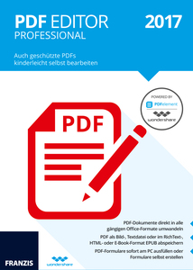 PDF Editor Professional 2017, CD-ROM | Dodax.at