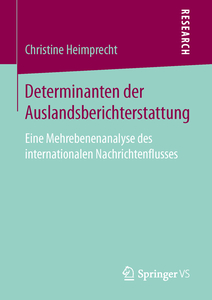Determinanten der Auslandsberichterstattung | Dodax.at
