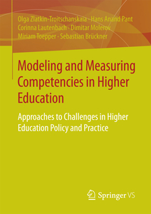 Modeling and Measuring Competencies in Higher Education | Dodax.ch