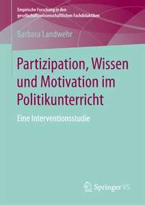 Partizipation, Wissen und Motivation im Politikunterricht | Dodax.at