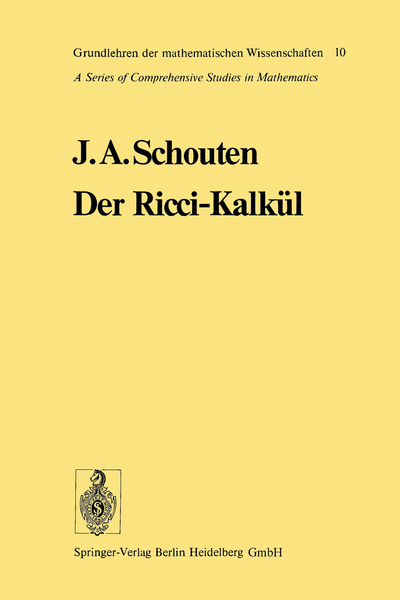 Der Ricci-Kalkül | Dodax.co.uk