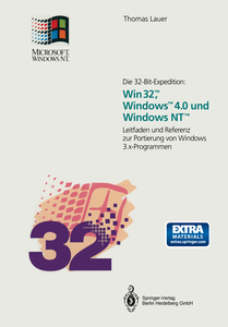 Die 32-Bit-Expedition: Win32™, Windows™4.0 und Windows NT™ | Dodax.co.uk