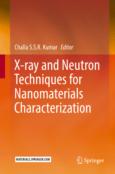 X-ray and Neutron Techniques for Nanomaterials Characterization | Dodax.ch