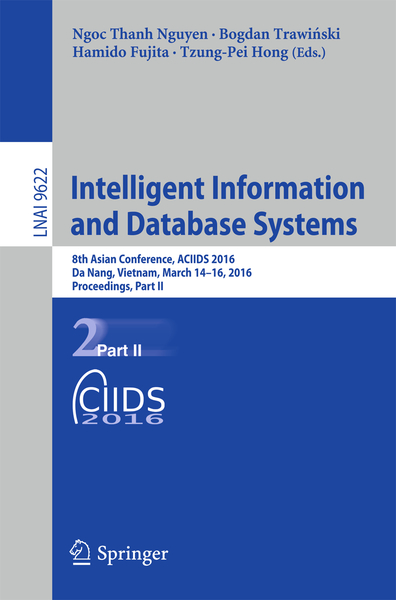 Intelligent Information and Database Systems | Dodax.nl