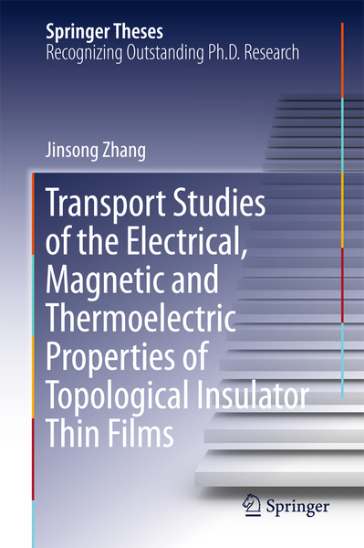 Transport Studies of the Electrical, Magnetic and Thermoelectric properties of Topological Insulator Thin Films | Dodax.ch