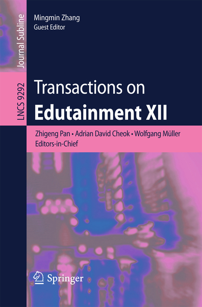 Transactions on Edutainment XII | Dodax.ch