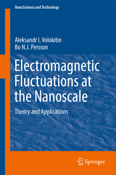 Electromagnetic Fluctuations at the Nanoscale | Dodax.de