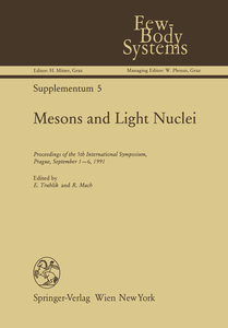 Mesons and Light Nuclei | Dodax.ch