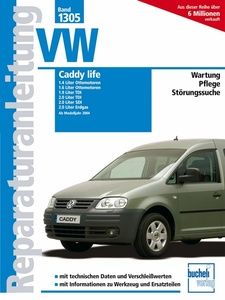 VW Caddy life ab Modelljahr 2004 | Dodax.co.uk