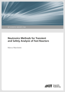 Neutronics Methods for Transient and Safety Analysis of Fast Reactors | Dodax.de