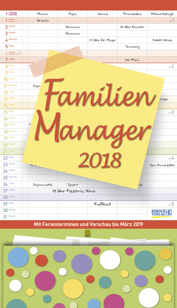 Familien Manager 2018   Dodax.at
