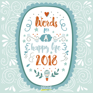 Words for a happy life 2018 | Dodax.fr