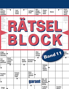 Rätselblock Band 11 | Dodax.co.uk