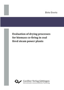 Evaluation of drying processes for biomass co-firing in coal fired steam power plants | Dodax.ch