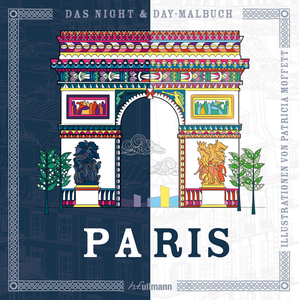 Das Night & Day-Malbuch: Paris | Dodax.at