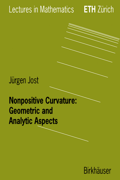 Nonpositive Curvature: Geometric and Analytic Aspects | Dodax.nl