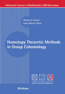 Homotopy Theoretic Methods in Group Cohomology | Dodax.ch