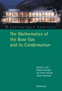 The Mathematics of the Bose Gas and its Condensation | Dodax.co.uk