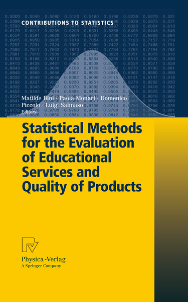 Statistical Methods for the Evaluation of Educational Services and Quality of Products   Dodax.nl