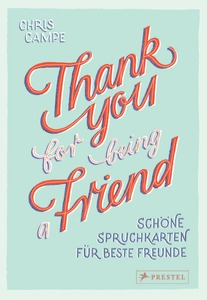 Thank you for being a friend | Dodax.ch