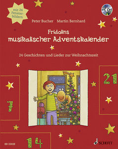 Fridolins musikalischer Adventskalender, m. Audio-CD | Dodax.at