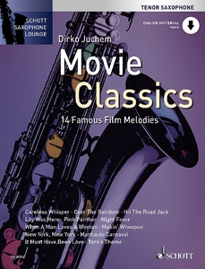 Movie Classics, für Tenorsaxophon, m. Audio-CD, m. Klaviersatz | Dodax.de
