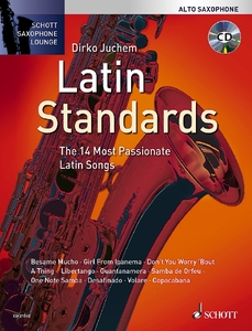 Latin Standards, für Alt-Saxophon, m. Audio-CD | Dodax.ch
