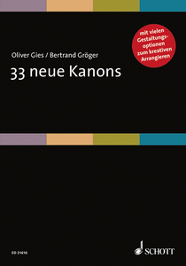 33 neue Kanons, Singpartitur | Dodax.at