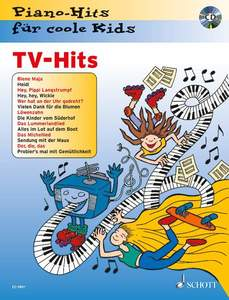 TV-Hits, Klavier, m. Audio-CD | Dodax.de
