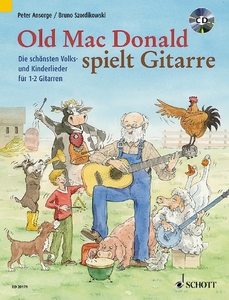 Old Mac Donald plays Guitar, für 1-2 Gitarren, m. Audio-CD | Dodax.de