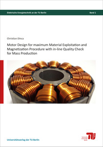 Motor design for maximum material exploitation and magnetization procedure with in-line quality check for mass production | Dodax.com