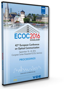 ECOC 2016, CD-ROM | Dodax.at