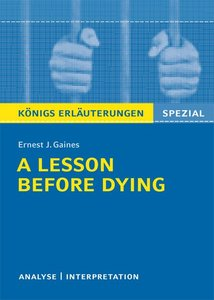 Ernest J. Gaines 'A Lesson Before Dying' | Dodax.at