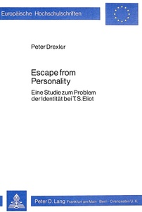 Escape From Personality   Dodax.ch