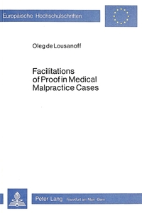 Facilitations of Proof in Medical Malpractice Cases | Dodax.ch