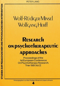 Research on Psychotherapeutic Approaches | Dodax.pl